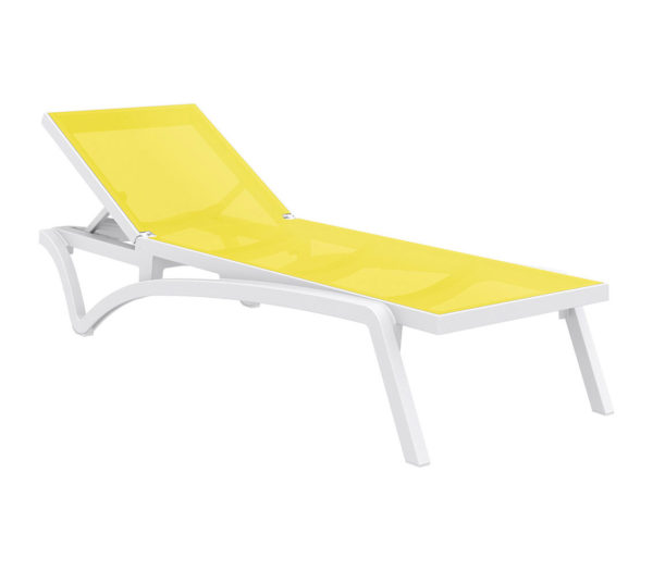 Pacific sunlounger yellow