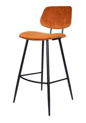 Barkruk Demi roestbruin hoofdfoto 300x430 - Barkruk Demi roestbruin