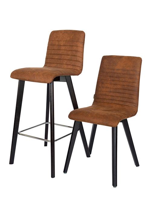 Lara preston 24 kruk en stoel - Barkruk Lara Preston 24