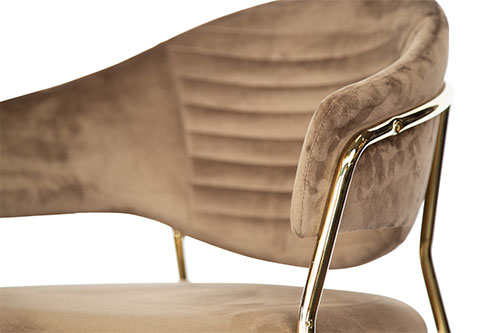Stoel Avatar gold detailfoto - Stoel Avatar goud
