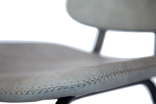 Stoel Mabel grijs detailfoto 2 - Stoel Mabel blauw