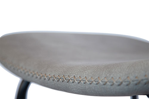 Stoel Mabel grijs detailfoto - Stoel Mabel grijs