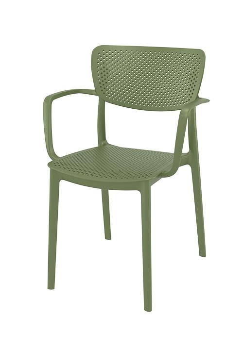 Stoel Loft groen hoofdfoto - Terrasstoel Loft wit