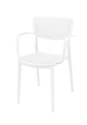 Stoel Loft wit hoofdfoto 300x430 - Terrasstoel Loft wit