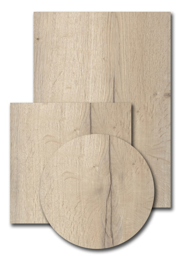 Melamineblad T601 Halifax Oak Wit