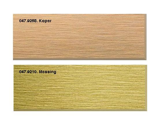 Decolegno S128 met messing/koper rand