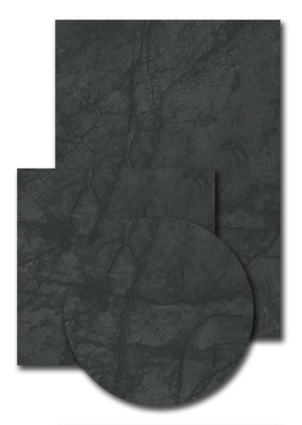 Melamineblad T567 donker marmer