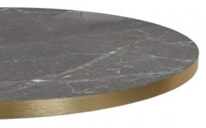 T568 Trasimeno basalt 300x187 - Melamineblad T568 met messing/koper rand