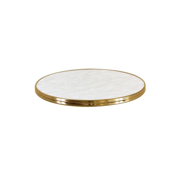 Topalit messing 1 600x619 - Terrastafelblad 0070 White Marmor Messing