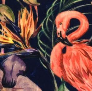 17104 Flamingo royal blue - Stoel Richmond roestbruin Pintail
