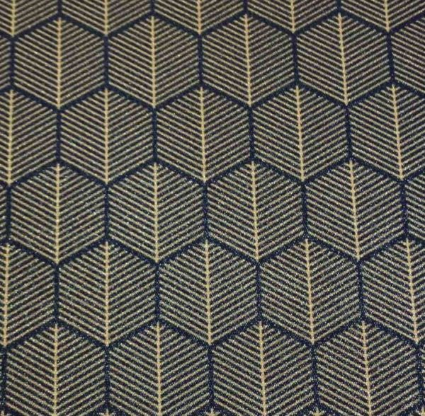 18105 geometrical royal blue 600x588 - Stoel Richmond roestbruin Pintail