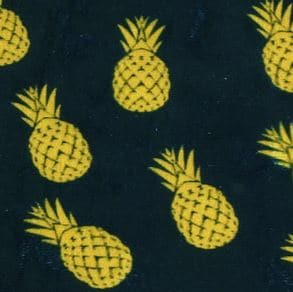 Ice velvet 17103 Ananas royal blue - Stoel Richmond roestbruin Pintail