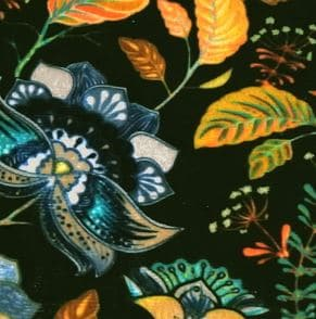 Ice velvet 17106 Bali dark green - Stoel Richmond roestbruin Pintail