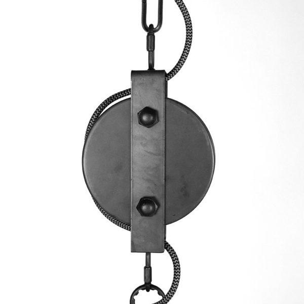 hanglamp fuse zwart staal 47x47x42 cm detail 1 600x600 - Hanglamp Fuse