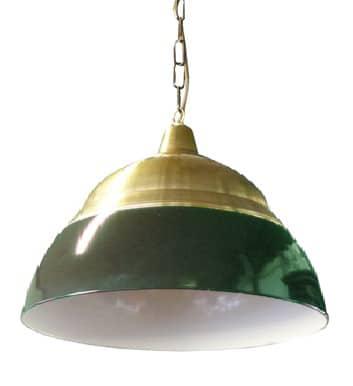 Okido XL groen - Cafélamp Okido XL pubgroen