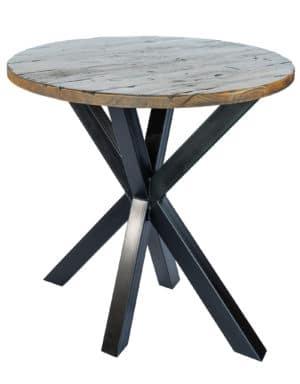 Matrix tafel Eiken Antiek hoog