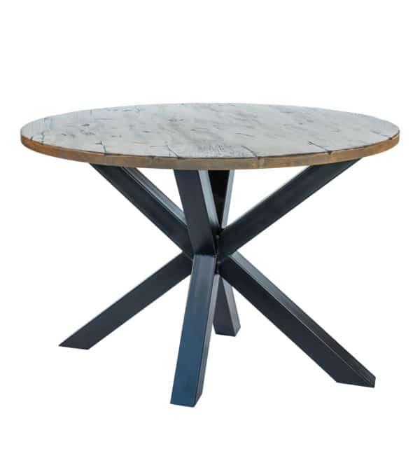 Matrix tafel Eiken Antiek laag
