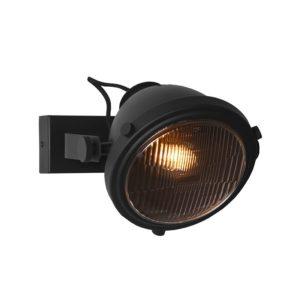 Wandlamp Tuk Tuk zwart