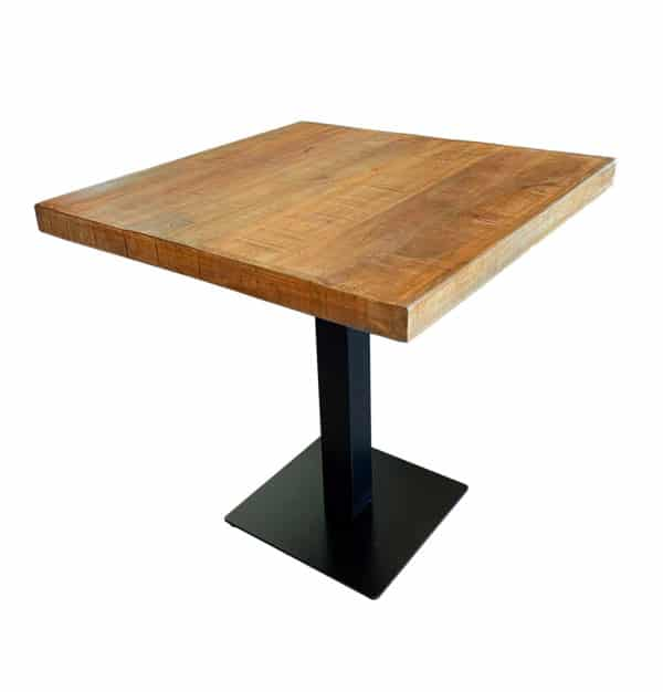 Tafel mangohout 70×70