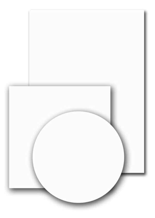 Terrastafelblad Topalit 0406 White