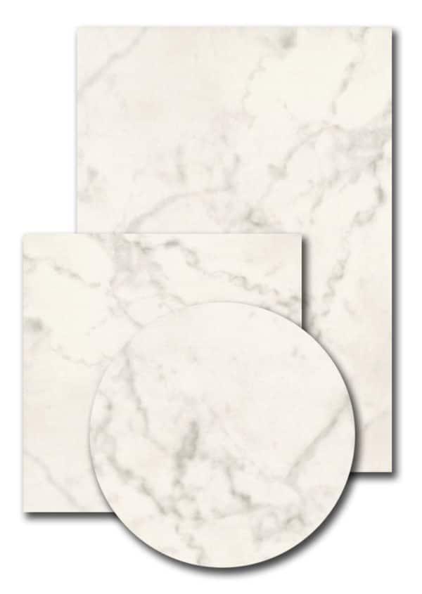 Terrastafelblad Topalit 0070 White Marmor
