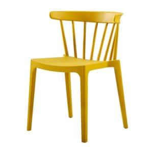 Terrasstoel Windson geel