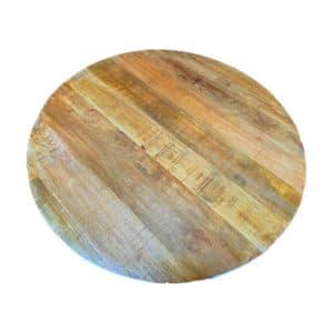 Tafelblad mangohout Ø120