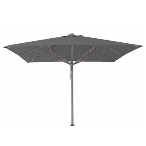 Parasol Bella 400×400 muisgrijs
